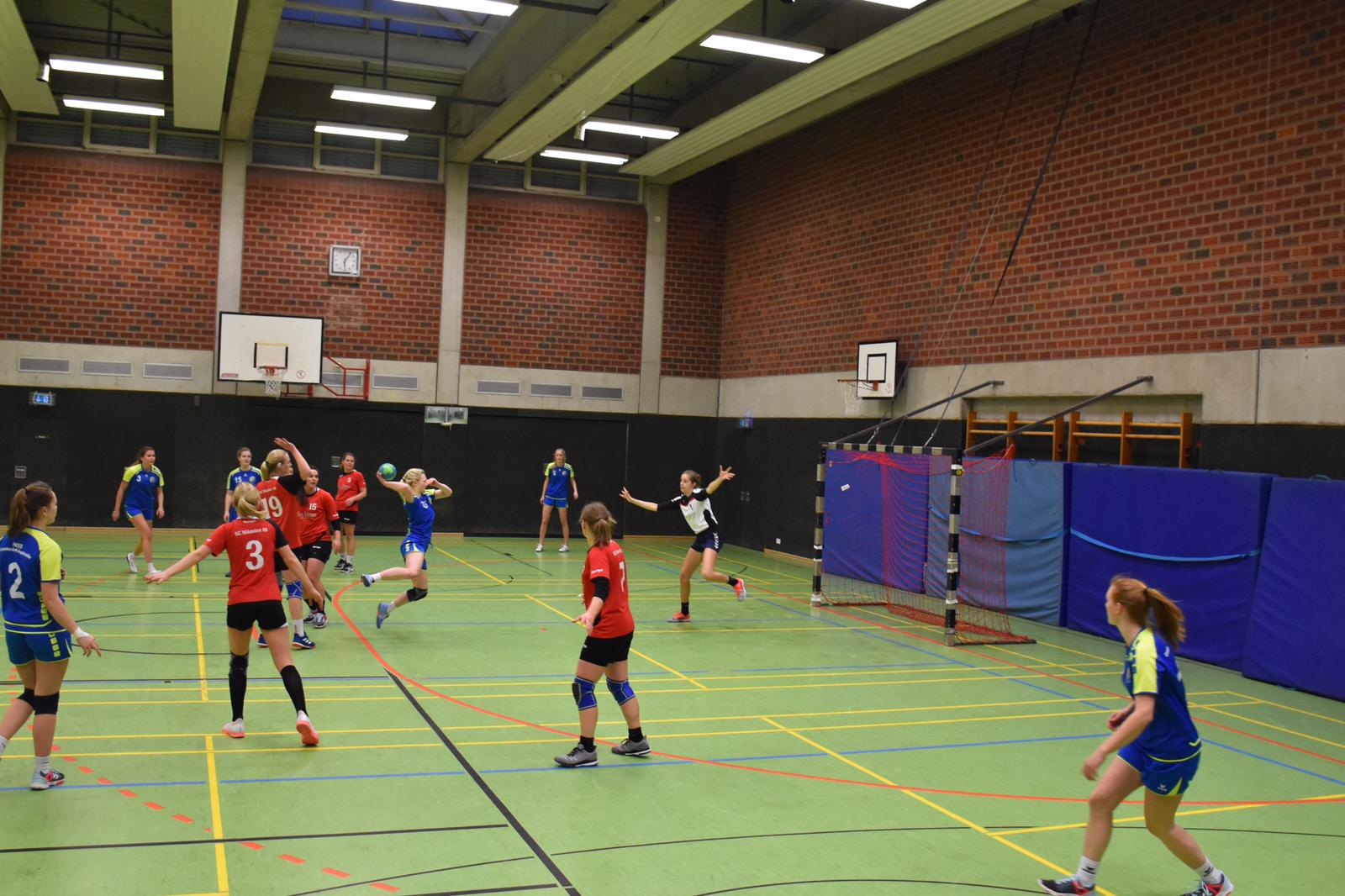 Damen HSG Gremmendorf Angelmodde gegen Münster 08