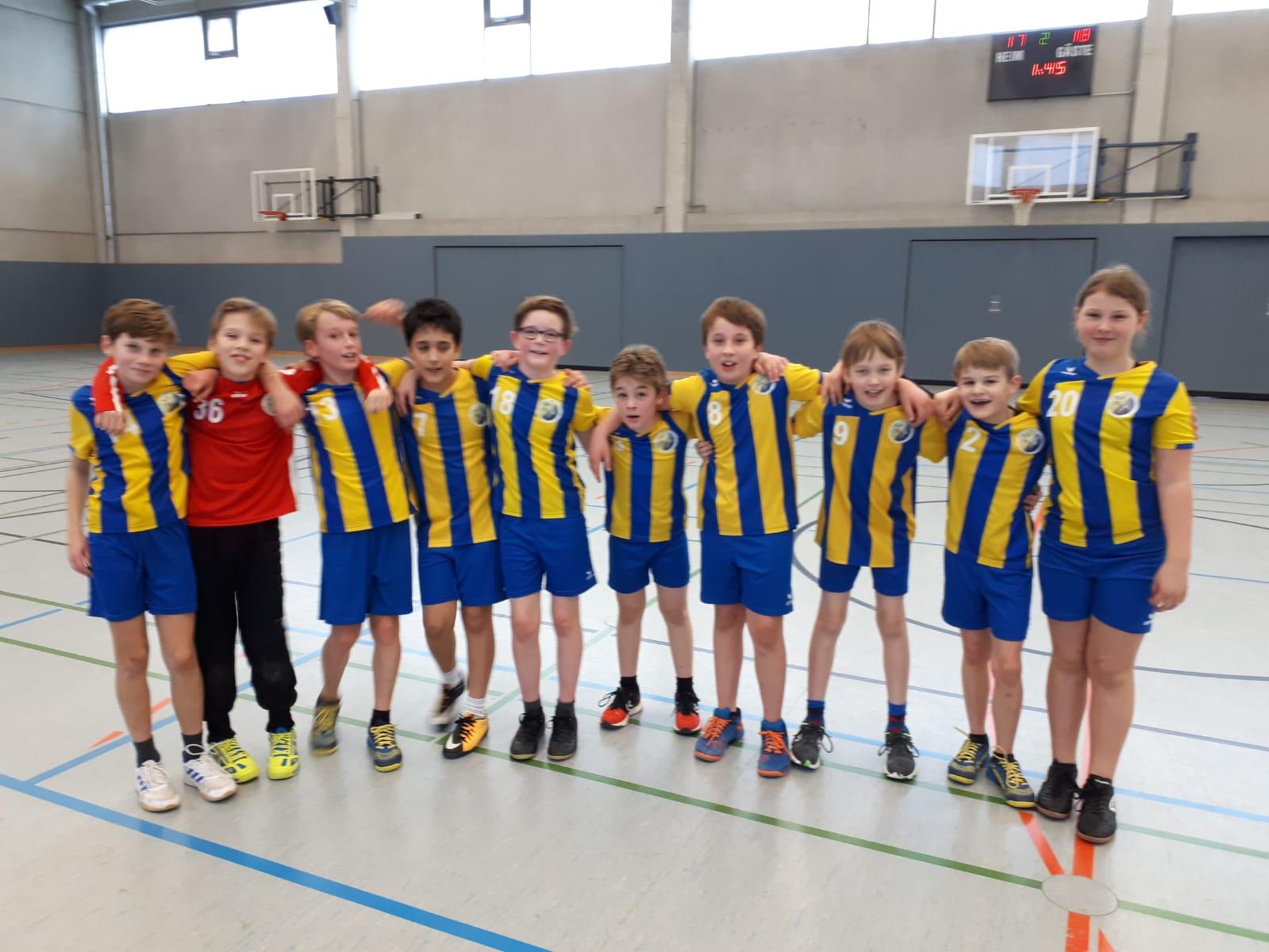 Handball E-Jugend HSG Gremmendorf Angelmodde gegen Kattenvenne