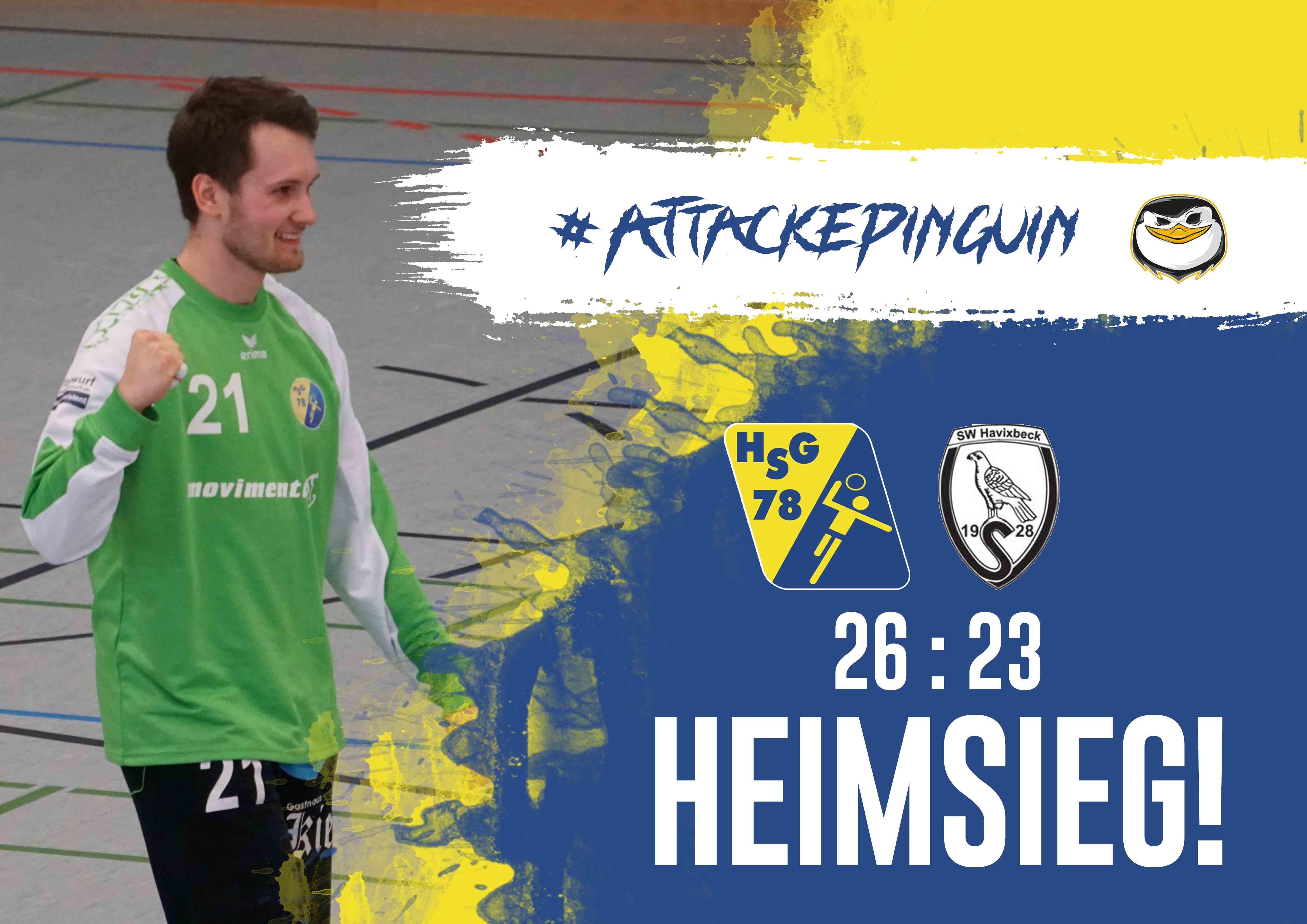 Heimsieg HSG Gremmendorf Angelmodde gegen SV SW Havixbeck 2