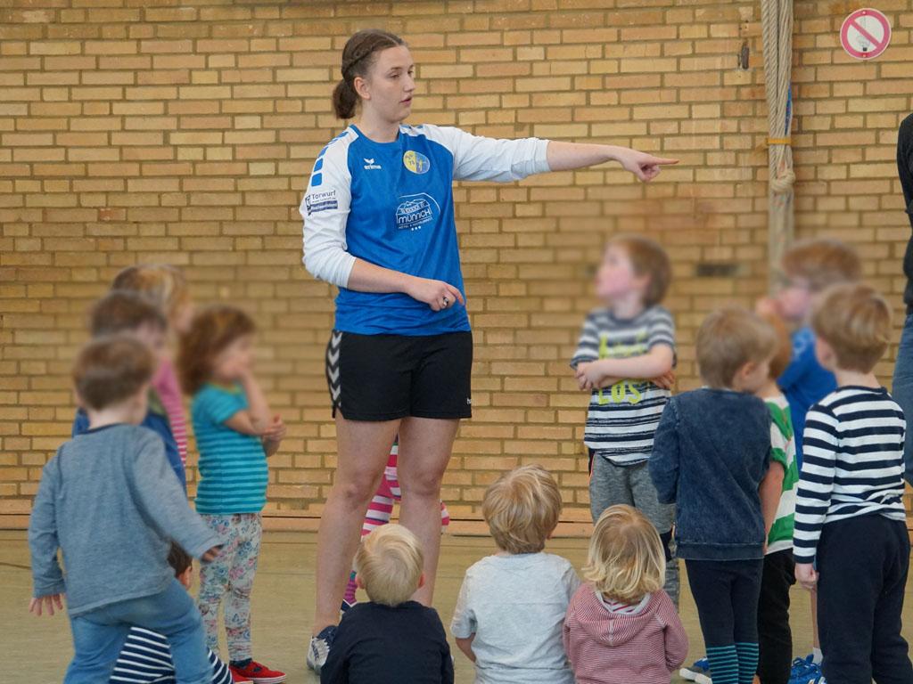 HSG Gremmendorf Angelmodde Superminis Handball