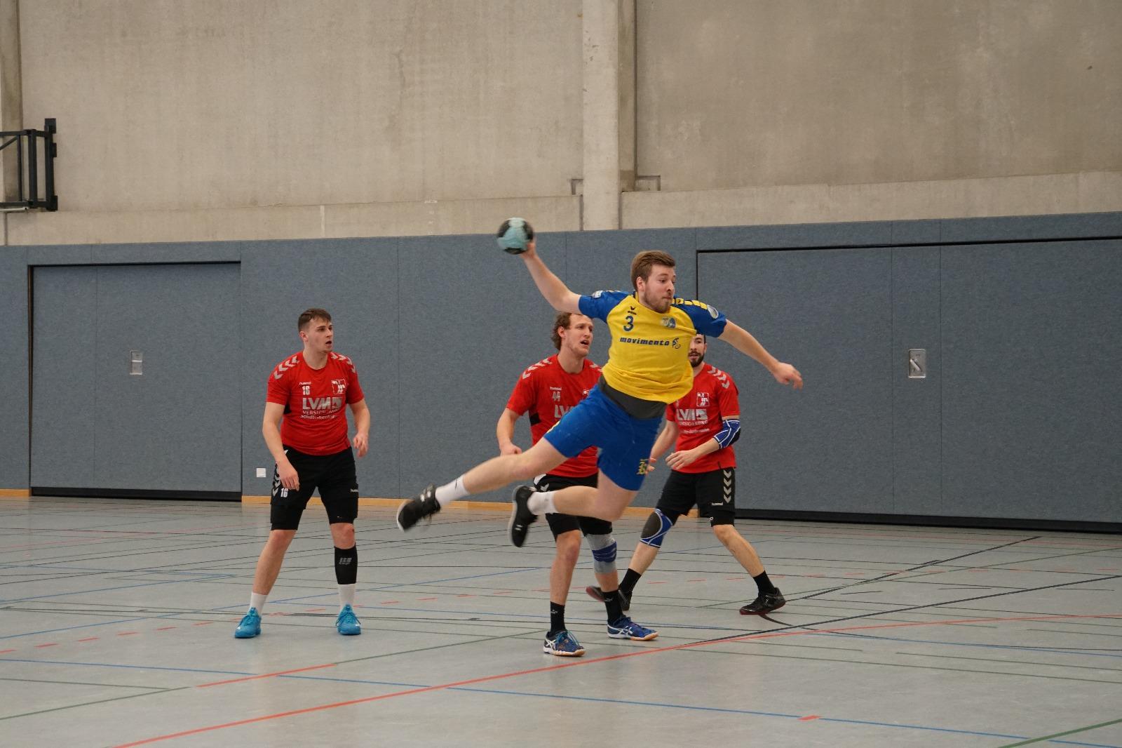 Handball Spiel HSG Gremmendorf Angelmodde gegen Greven